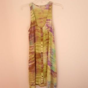 Silk women dress, size S